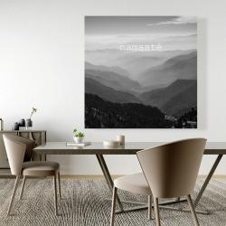 Canvas 48 x 48 - Namaste monochrome
