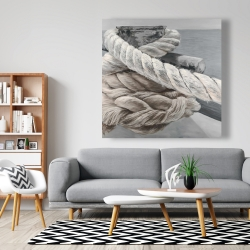 Canvas 48 x 48 - Twisted boat rope