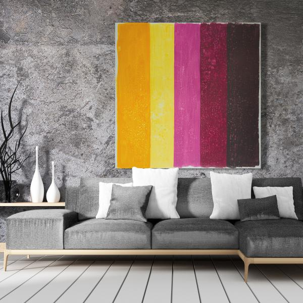 Canvas 48 x 48 - Live stripes
