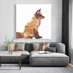 Canvas 48 x 48 - Red fox