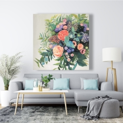 Canvas 48 x 48 - Flowers melody