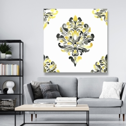 Canvas 48 x 48 - Baroque ornament