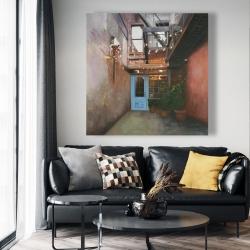Canvas 48 x 48 - Cozy little place