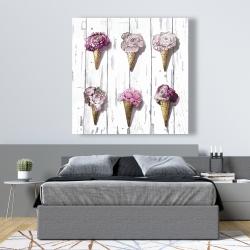 Canvas 48 x 48 - Peony cones