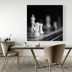 Canvas 48 x 48 - Monochrome chess games