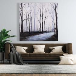 Canvas 48 x 48 - Sad forest