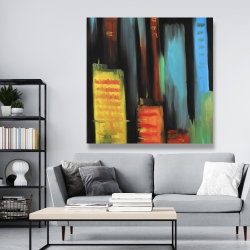 Canvas 48 x 48 - Abstract tall buildings