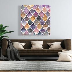 Canvas 48 x 48 - Purple like a mermaid