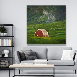 Canvas 48 x 48 - Life in the countryside