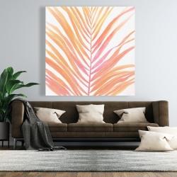 Canvas 48 x 48 - Glam palm leaf