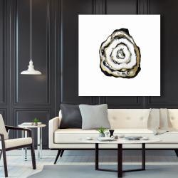 Canvas 48 x 48 - Golden agate