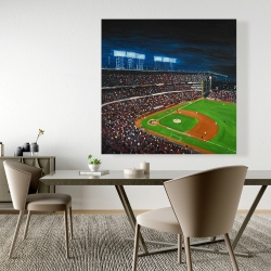 Canvas 48 x 48 - Baseball game