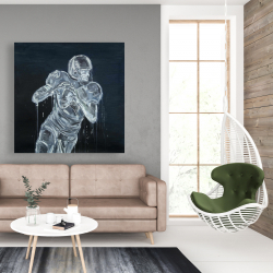 Canvas 48 x 48 - Football player