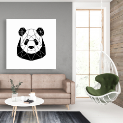 Canvas 48 x 48 - Geometric panda