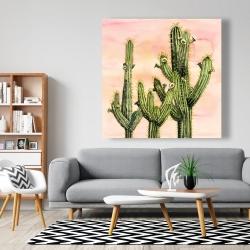 Toile 48 x 48 - Cactus weberocereus