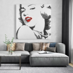 Canvas 48 x 48 - Marilyn monroe outline style