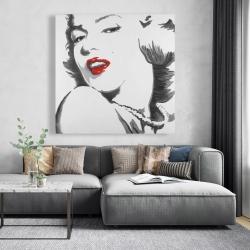 Canvas 48 x 48 - Marilyn monroe outline style
