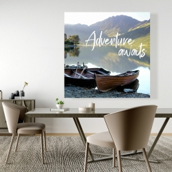 Canvas 48 x 48 - Adventure awaits