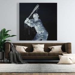 Canvas 48 x 48 - Baseball player