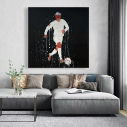 Canvas 48 x 48 - Soccer player