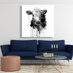 Canvas 48 x 48 - Jersey cow
