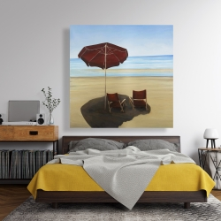 Canvas 48 x 48 - Relax at the beach
