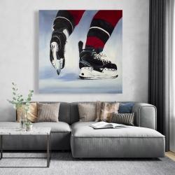 Canvas 48 x 48 - Hockey player