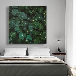 Canvas 48 x 48 - Clovers