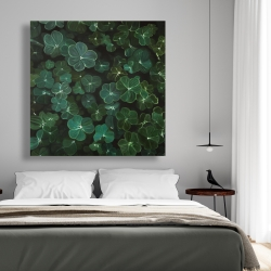 Canvas 48 x 48 - Clovers