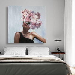 Canvas 48 x 48 - See life in flowers