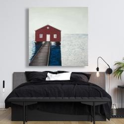 Canvas 48 x 48 - Boathouse