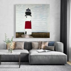 Canvas 48 x 48 - Sankaty head lighthouse
