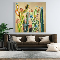 Canvas 48 x 48 - Desert gems