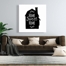 Canvas 48 x 48 - Home sweet home