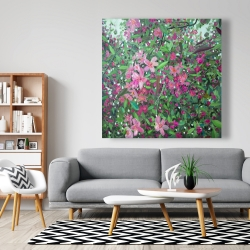 Canvas 48 x 48 - Cherry tree blooming