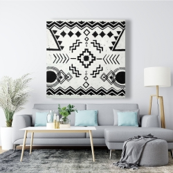 Canvas 48 x 48 - Ethnic patterns