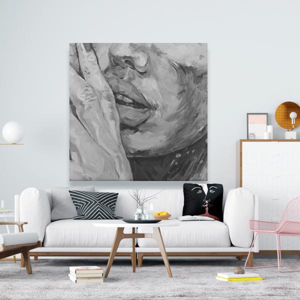 Canvas 48 x 48 - Luscious lips