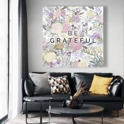 Canvas 48 x 48 - Be grateful