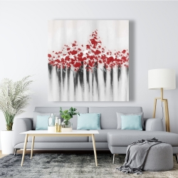 Canvas 48 x 48 - Falling red dot