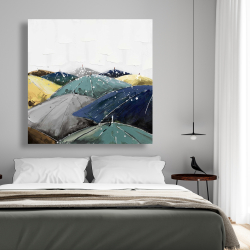 Canvas 48 x 48 - Umbrellas