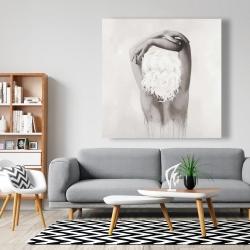 Canvas 48 x 48 - Feminine delicacy