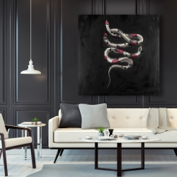 Canvas 48 x 48 - Snake flowers