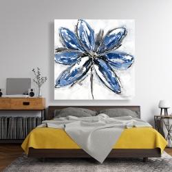 Canvas 48 x 48 - Blue petal