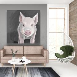 Canvas 48 x 48 - Little piglet