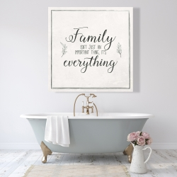 Canvas 48 x 48 - Family