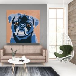 Canvas 48 x 48 - Flash the pug