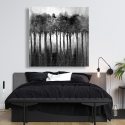 Canvas 48 x 48 - Monochrome trees