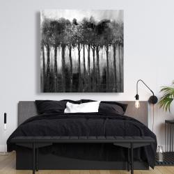 Canvas 48 x 48 - Monochrome trees