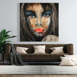 Canvas 48 x 48 - Colorful portrait