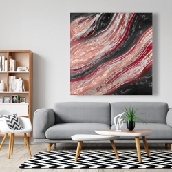 Canvas 48 x 48 - Red wave